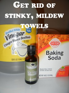 Homemade Fabric Softener Ingredients with Tea Tree Oil