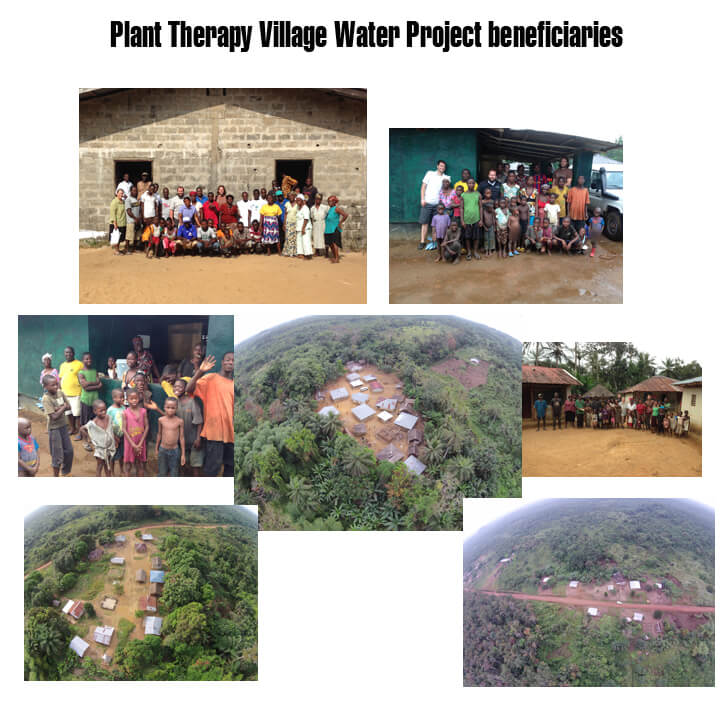 Plant Therapy Village Water Project Beneficiaries