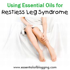Using Essential Oils for restless leg syndrome