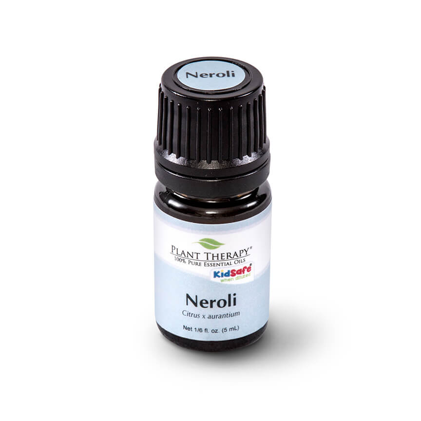 Neroli essential oil supports calming with a floral scent