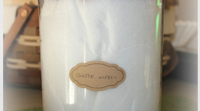 Counter Wipes