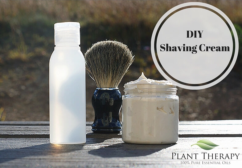 Plant Therapy DIY Gifts for Him Shaving Cream and Aftershave