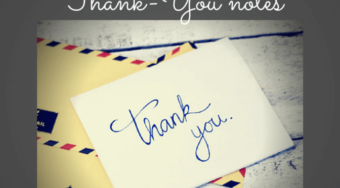 Scented Thank You Notes!