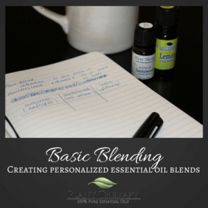 Plant Therapy the Basics of Blending