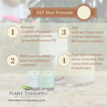 Plant Therapy Men Peppermint & Rosemary Hair Pomade DIY