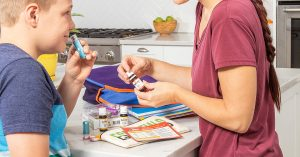 Essential Oils and ADHD: Bringing an Inhaler to School