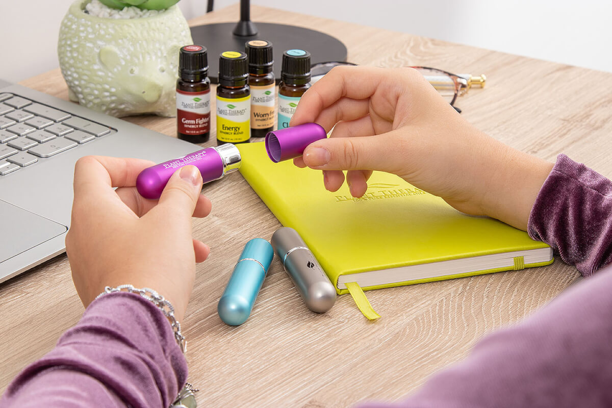 Personal Inhaler Tips and Tricks Essential Oils Plant Therapy