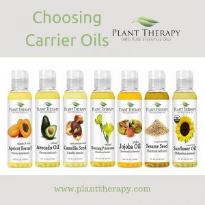Plant Therapy Choosing Carrier Oils