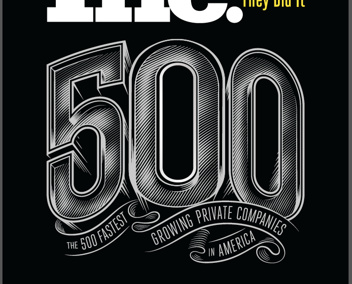 Inc Magazine 500 fastest growing private companies