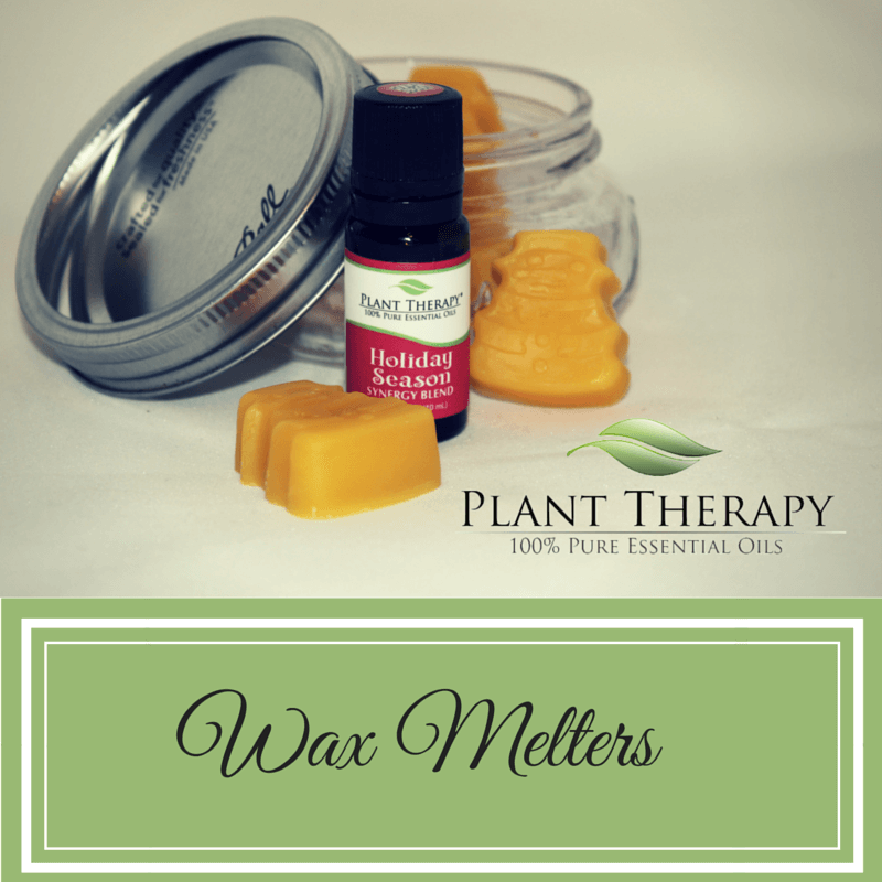 Plant Therapy DIY Christmas Project Wax Warmer Melts with Holiday Synergy