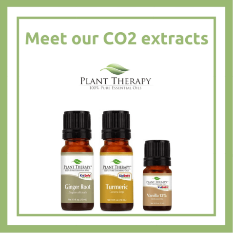 Plant Therapy CO2 Extracts Ginger Root, Tumeric, and Vanilla