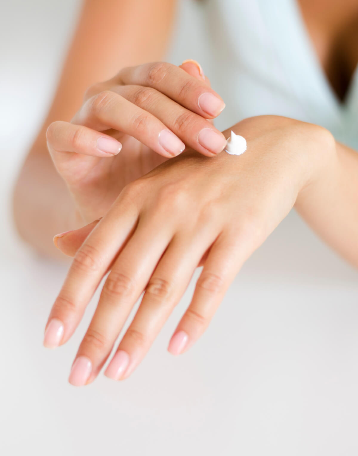 Where to Apply Hand Cream with Essential Oils On the Body