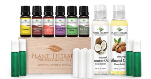 """Preparing your """"Home Wellness"""" Kit with Plant Therapy's starter kit"""