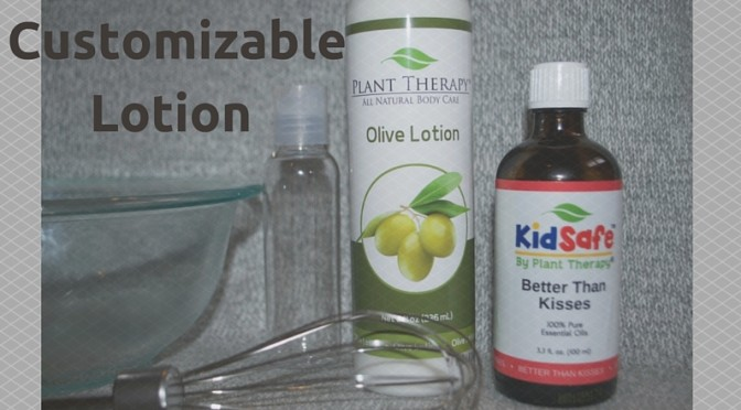 DIY KidSafe Hand Lotion with Essential Oils