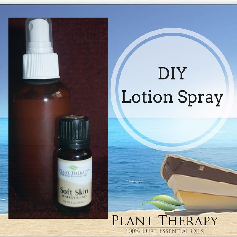 DIY Lotion Spray