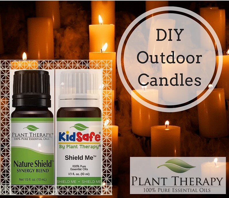 DIY Outdoor Candles