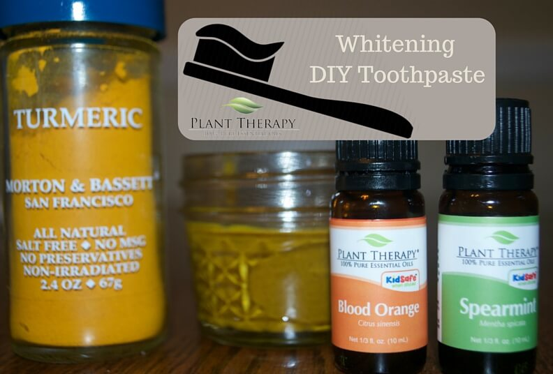 Whitening DIY Toothpaste