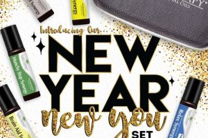 Essential oils to help you achieve your 2018 New Years Resolutions