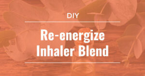 DIY Re-energize inhaler blend plant therapy