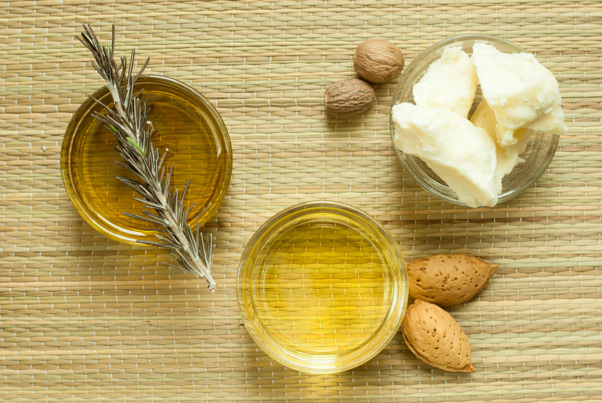 Carrier Oils and Butter Essential Oil Ingredients