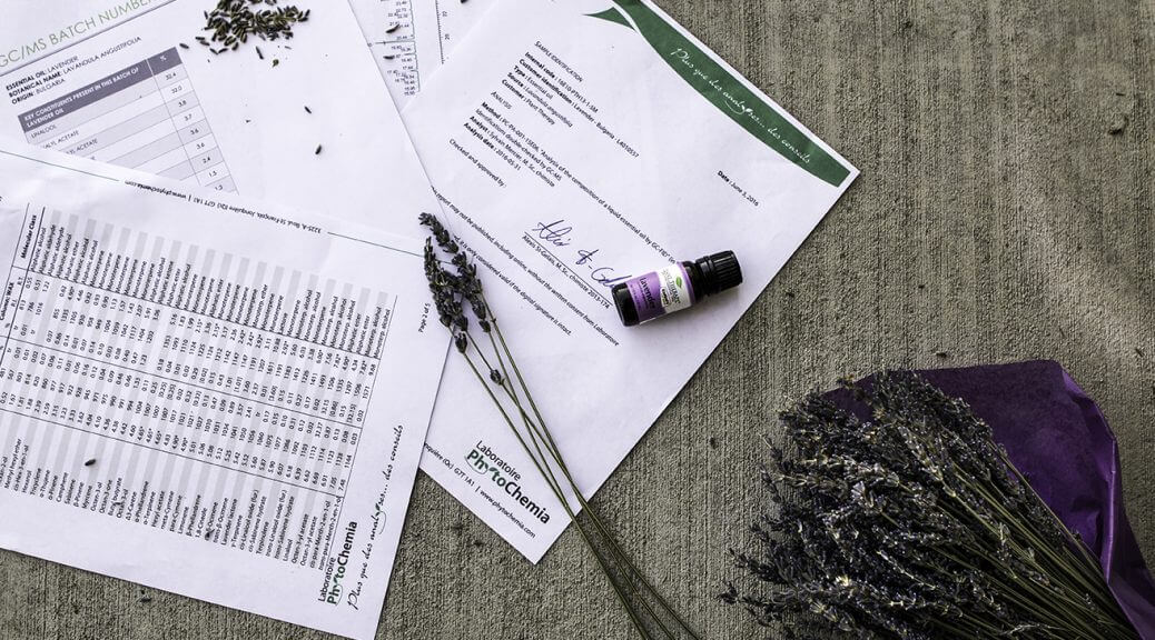 PLant Therapy Essential Oil Testing Batch Test Reports