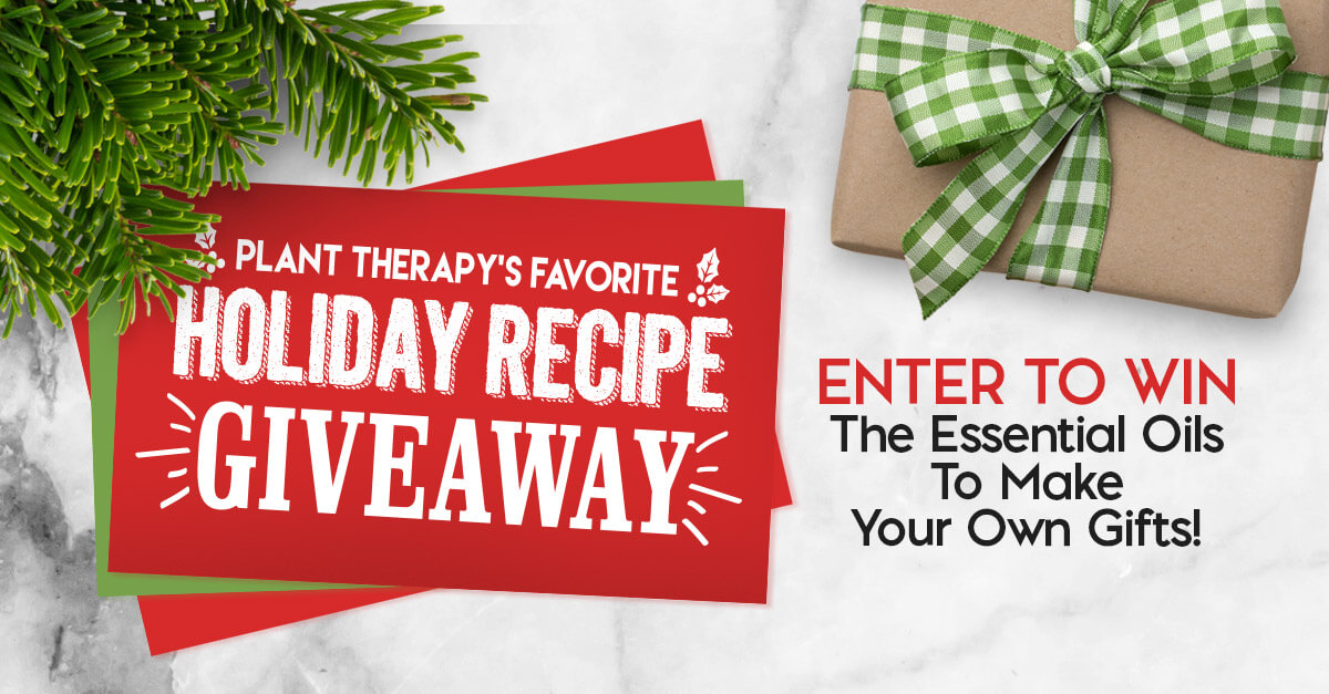 Plant Therapy Holiday Recipe Giveaway