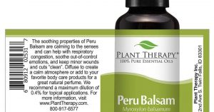 December Oil of the Month - Peru Balsam