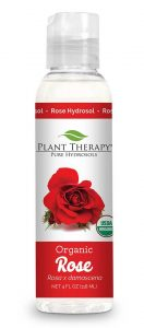 Use rose hydrosol for preventing hair loss