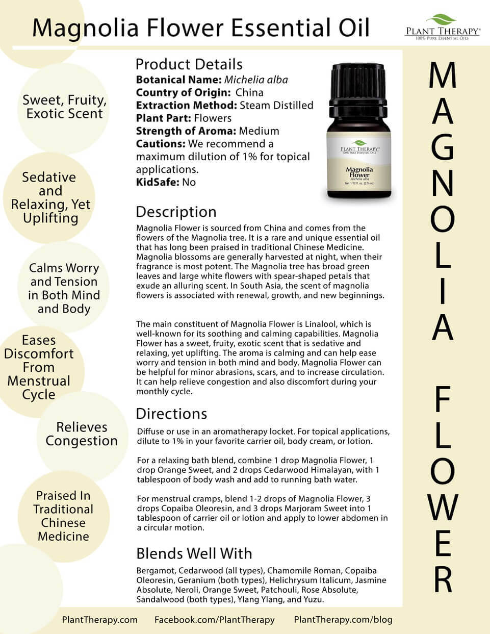 Essential Oil Of The Month Magnolia Flower