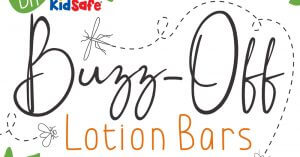 DIY KidSafe® Buzz-Off Lotion Bars with Essential Oils