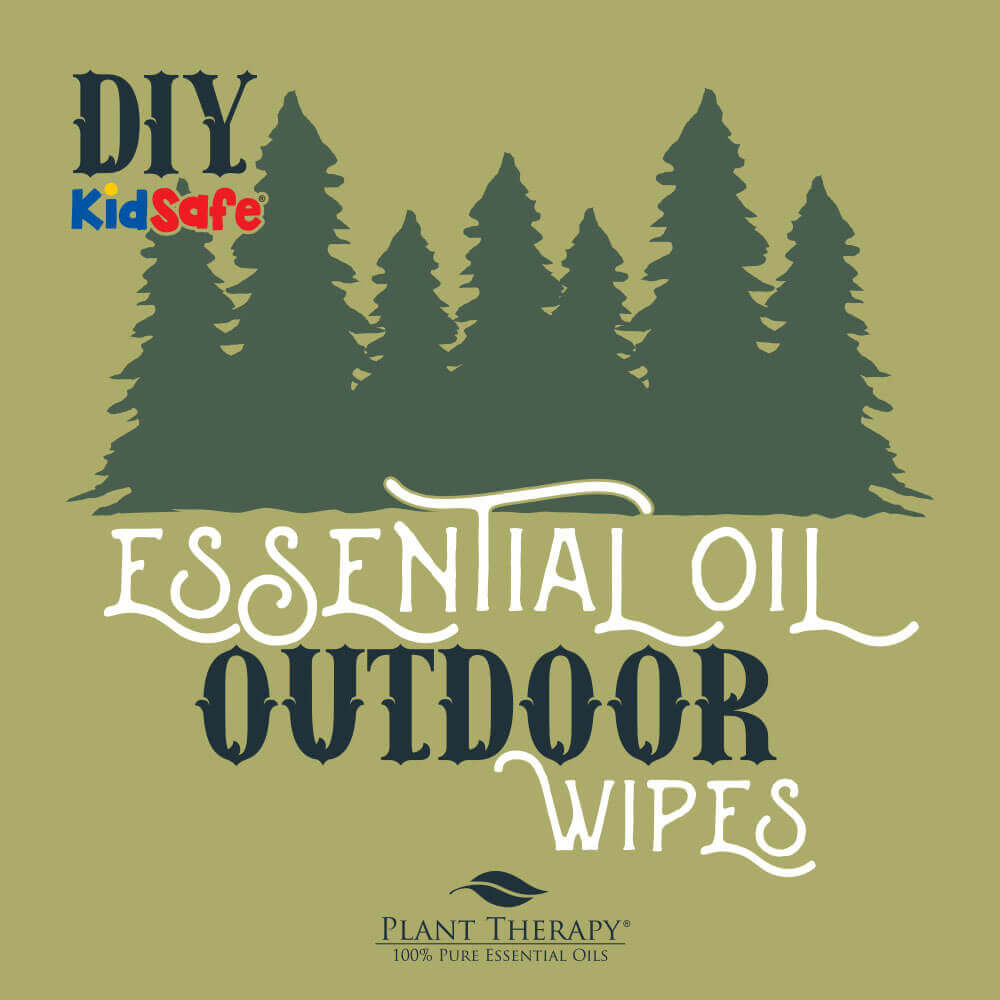 essential oil outdoor wipes