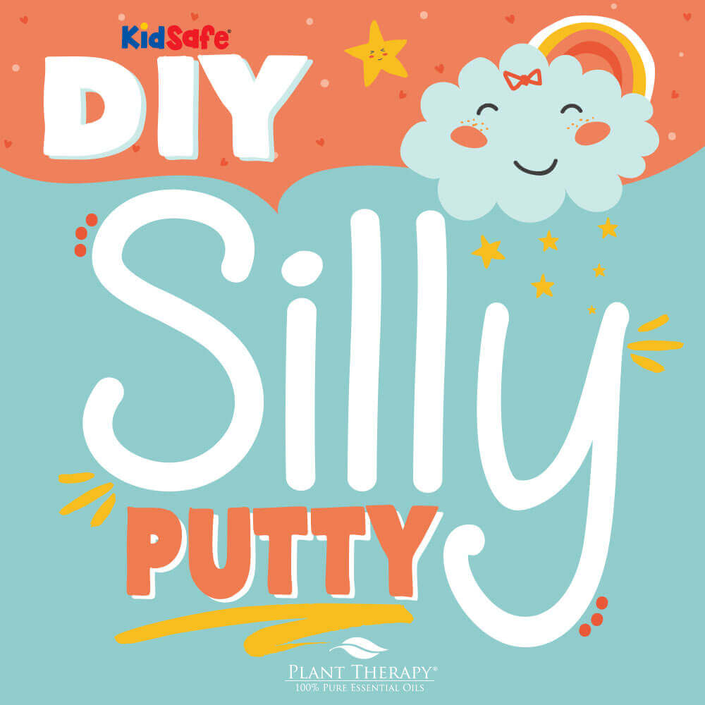 DIY essential oil silly putty