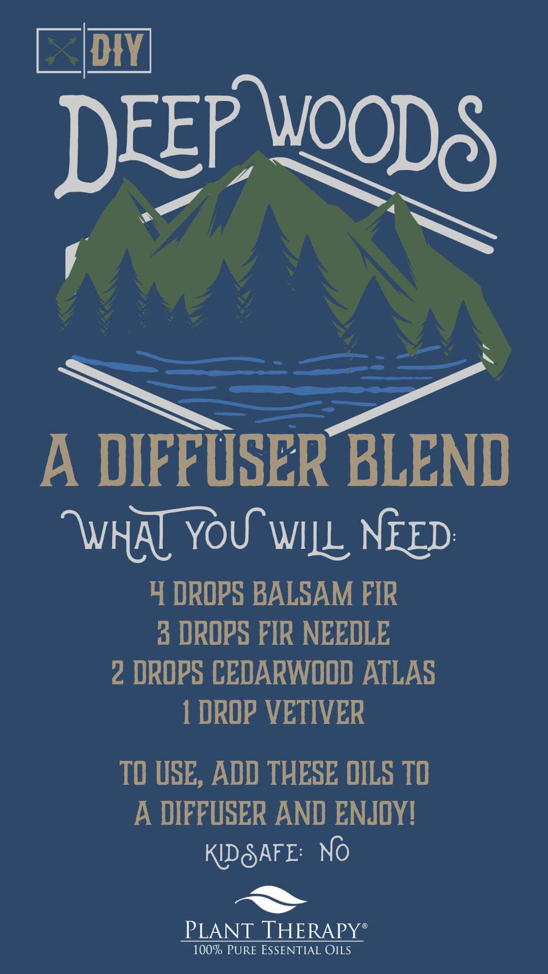 DIY Father's Day Diffuser Blend for the Nerdy Dad