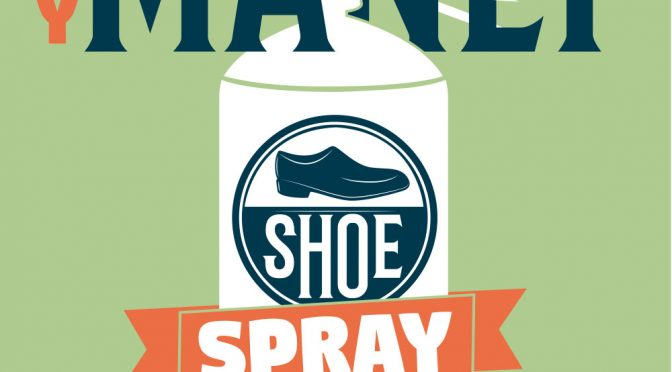 DIY manly essential oil shoe spray