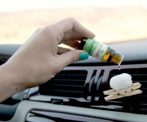 Why You Should be Diffusing Essential Oils on Road Trips