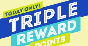 Bank Some Bucks: Don't Miss Out on Triple Rewards Points!