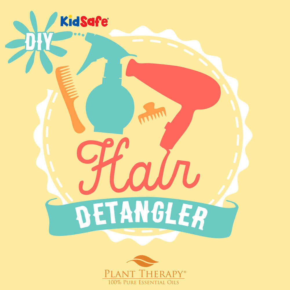 DIY essential oil detangler