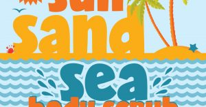 Sun Sand Sea Body Scrub DIY