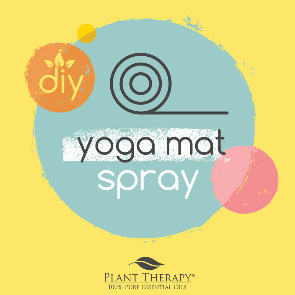 DIY Essential Oils yoga mat spray