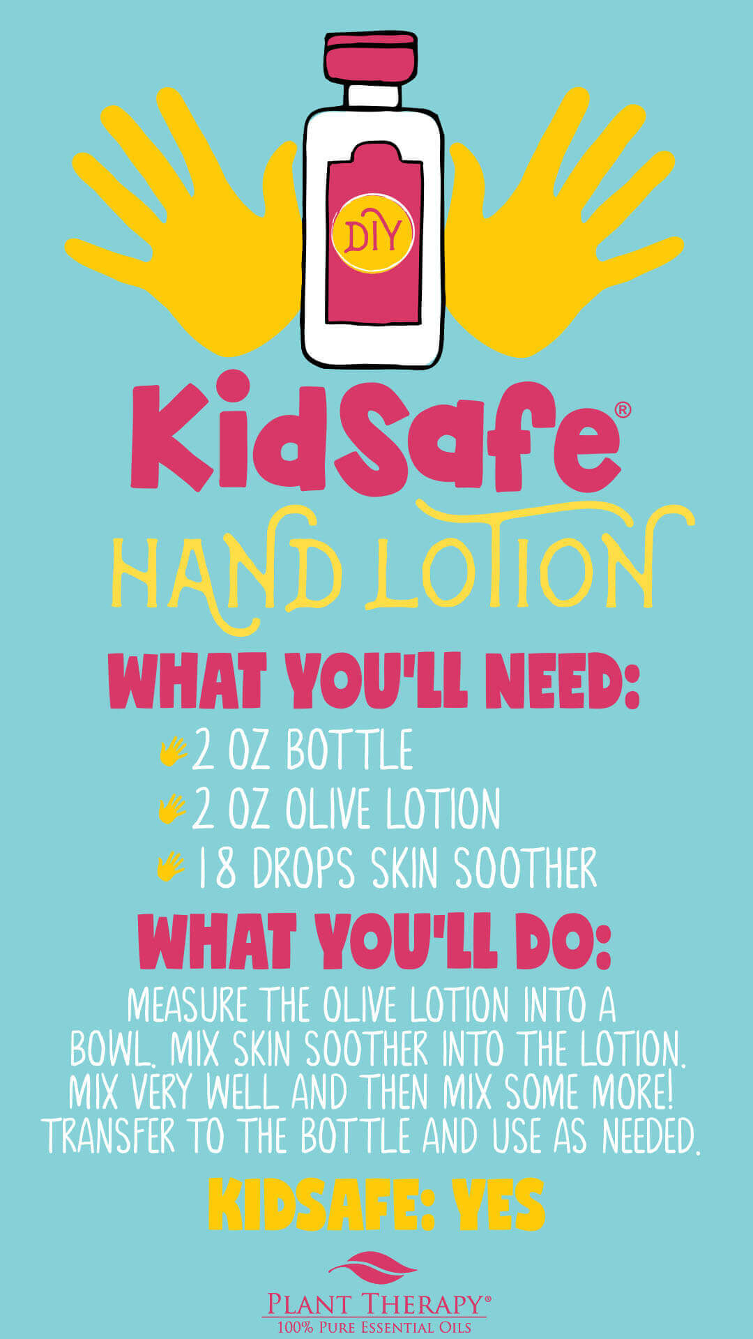 Plant Therapy KidSafe Hand Lotion