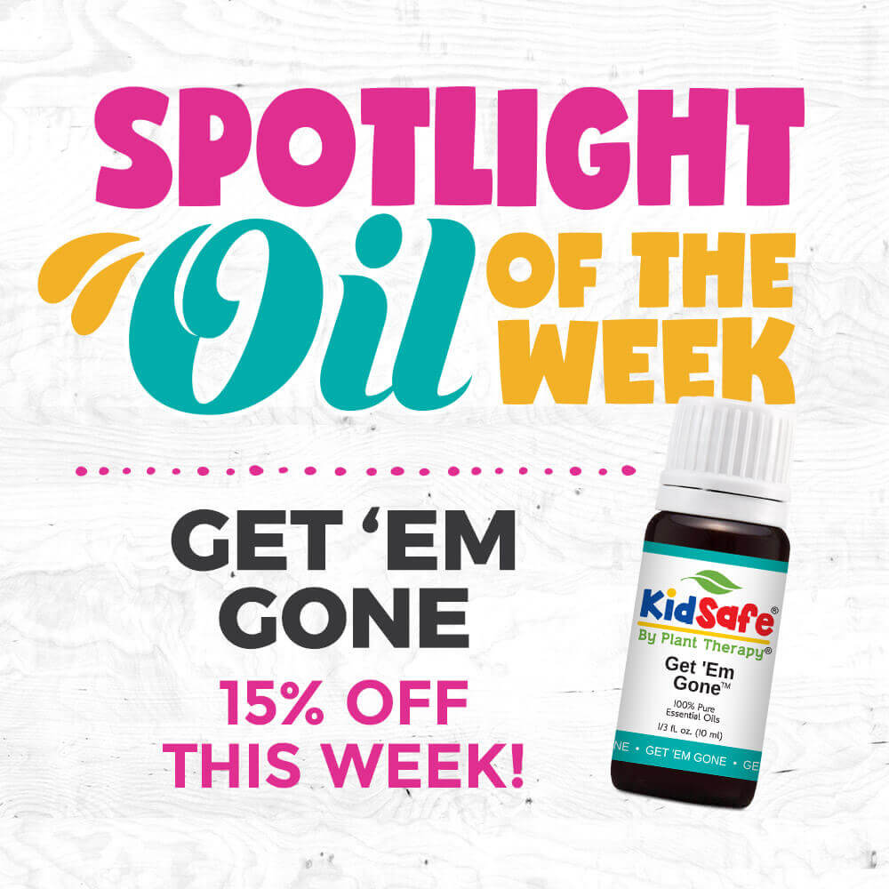 Spotlight Oil of the Week : Get 'Em Gone Essential Oil Synergy