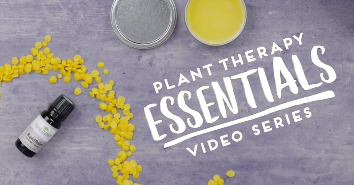 Plant Therapy Essential Video Series Rapid Muscle Relief