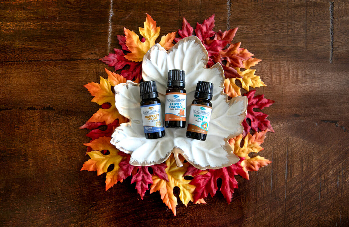 Plant Therapy essential oils fall blends