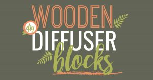 Plant Therapy Essentials: Essential Oil Wooden Diffuser Blocks DIY