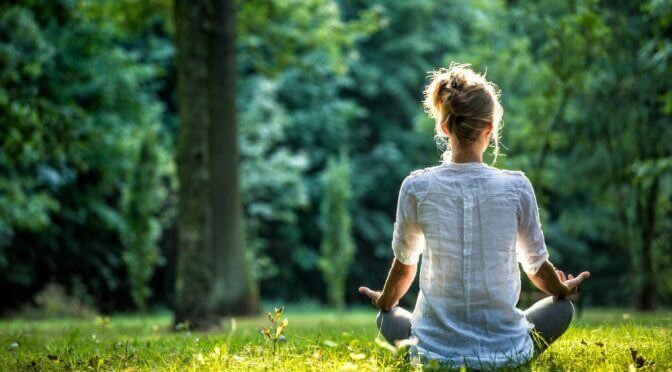 PLant Therapy enjoys yoga and relaxation outdoors in nature