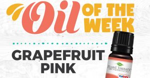 Grapefruit Pink Essential Oil Spotlight of the Week
