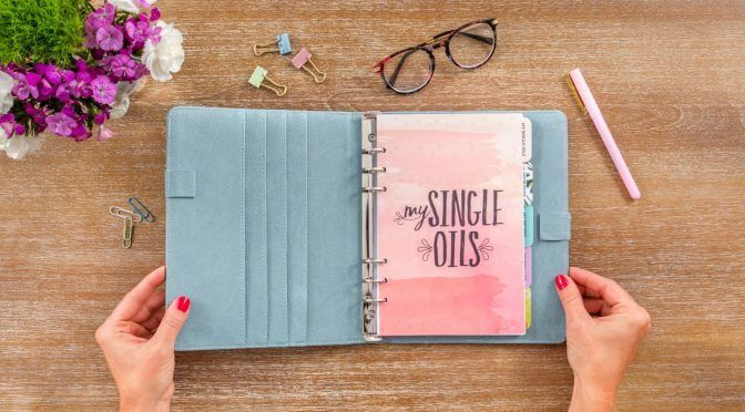 plant therapy essential oil journal