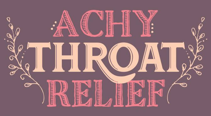Essential Oils for Soothing a Sore Throat