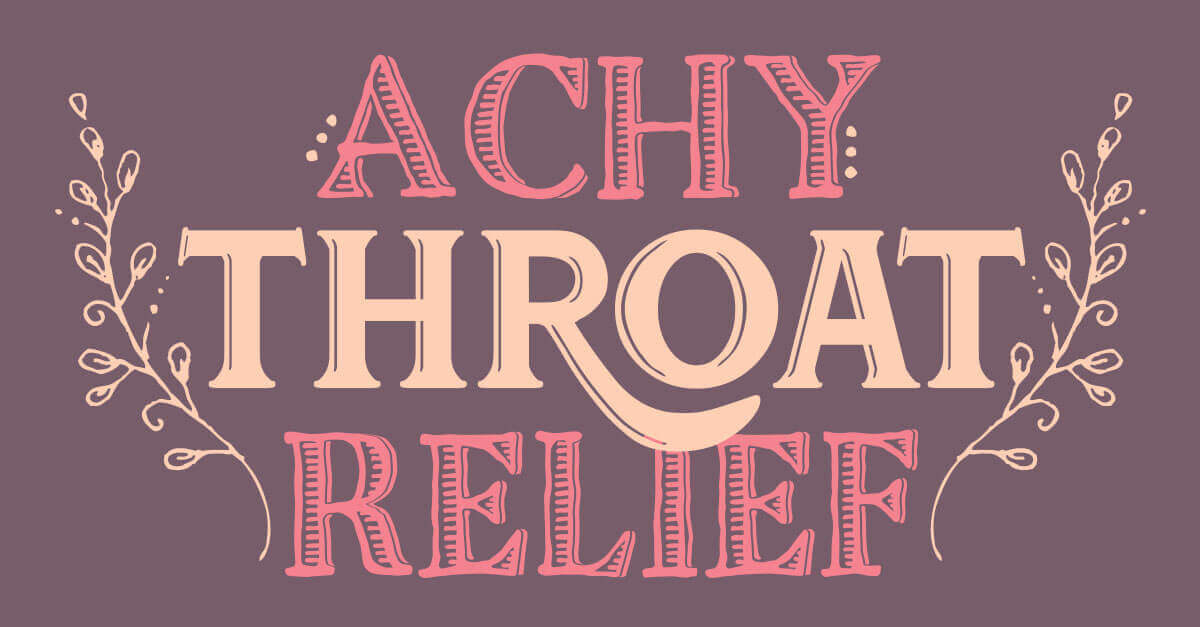 Essential Oils For Sore Throat Benefits And Uses Diy Neck Rub