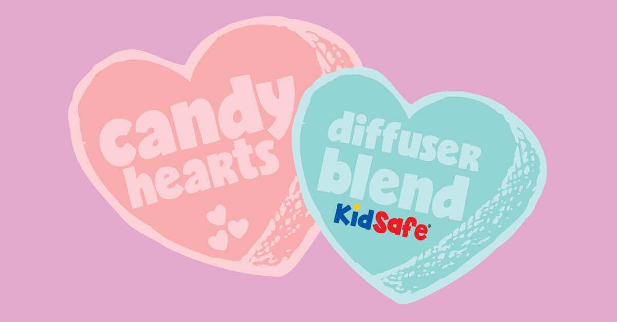 Plant Therapy Candy Hearts Diffuser Blend with Capaiba